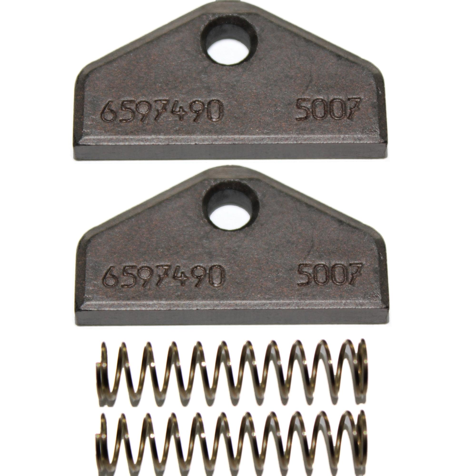 Kohlebürsten Motorkohlen passend für Miele Trockner EXQUISIT500A Typ T515 DE